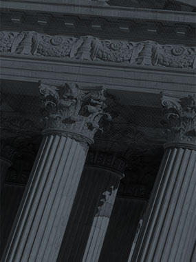 photo of  courthouse columns